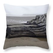 In With The Tides Throw Pillow