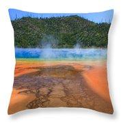 In Yellowstone Throw Pillow