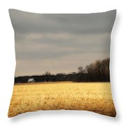 In Yonder Timber Throw Pillow