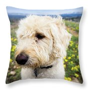 In Your Muzzle Throw Pillow