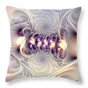 Incandescent Reminiscences Throw Pillow
