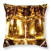 Incandescent Throw Pillow