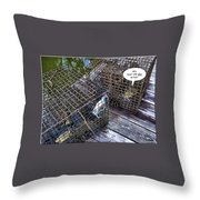 Incarceration Throw Pillow