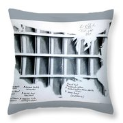 Incarceration Nation Throw Pillow