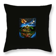 Inca's Trilogy II Throw Pillow