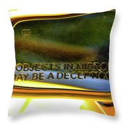 Incepticons May Be Closer Throw Pillow