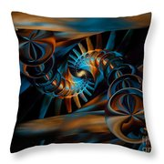 Inception Abstract Throw Pillow