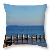 Inchkeith And Brodie Throw Pillow