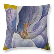 Inchworm Throw Pillow