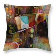 Incipient Bloom Throw Pillow