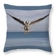 Incoming 2 Throw Pillow