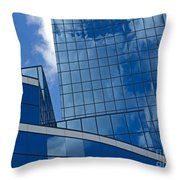 Incoming Clouds Throw Pillow