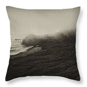 Incoming Fog Throw Pillow