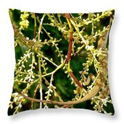 Inconspicuous Lizard Throw Pillow