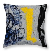 Indecisive Throw Pillow