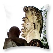 Independence Park 10 Throw Pillow