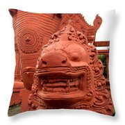 Independence Park 14 Throw Pillow