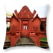 Independence Park 9 Throw Pillow