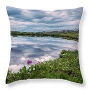 Independence  Pass Pond Throw Pillow