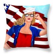 Independent Summer Throw Pillow