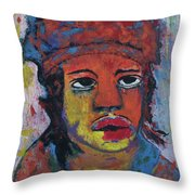 Indian Boy Throw Pillow