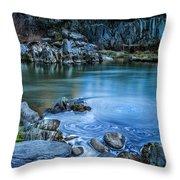 Indian Creek Throw Pillow