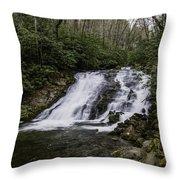Indian Creek Falls 2 Throw Pillow