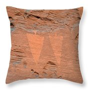 Indian Creek Watchers Throw Pillow