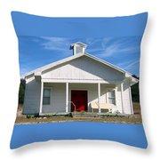 Indian Gap Baptist Throw Pillow