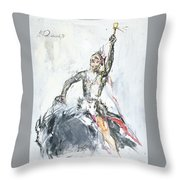 Indian Majesty Throw Pillow