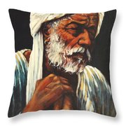 Indian Man Throw Pillow