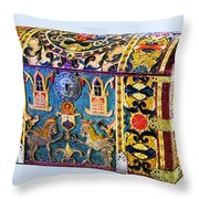 Indian Portuguese Chest Throw Pillow