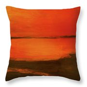 Indian River Reminiscence Throw Pillow