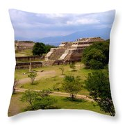Indian Ruins Throw Pillow