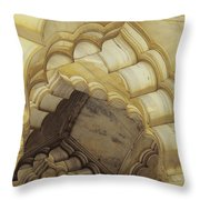 Indian Temple Arches Throw Pillow