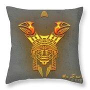 Indian Totem Throw Pillow