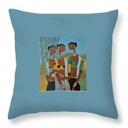 Indian Tribal  Throw Pillow
