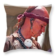 Indian Viii  6740 Throw Pillow