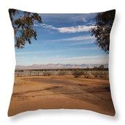 Indian Wells Valley Throw Pillow