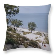 Indiana Dunes State Park Provides Throw Pillow