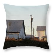 Indiana Farmhouse  Throw Pillow