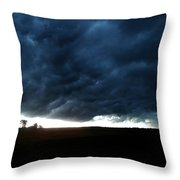 Indiana Storm Front Throw Pillow