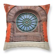 Indianapolis Union Station Building Throw Pillow