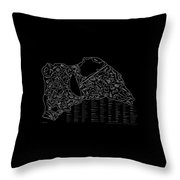 Indianapolist Motorsport Tracks Throw Pillow