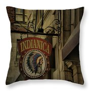 Indianica Montreal Throw Pillow