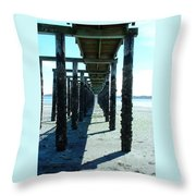 Indianola Washington Dock 2 Throw Pillow