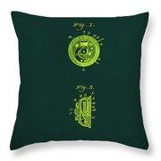Indicator Patent Drawing 1b Throw Pillow