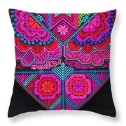 Indigenous Arts And Crafts Throw Pillow
