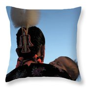Indigenous Mother Throw Pillow