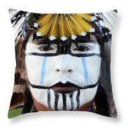 Indigenous People Canada 3 Throw Pillow
